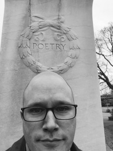 Dan poetry monument photo